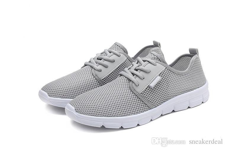 Männer Leichte Socken Herren Sneakers Outdoor-Sportschuhe Anti-Rutsch-Soft-athletisches Training Turnschuh-Mann-Homme mit dem Kasten