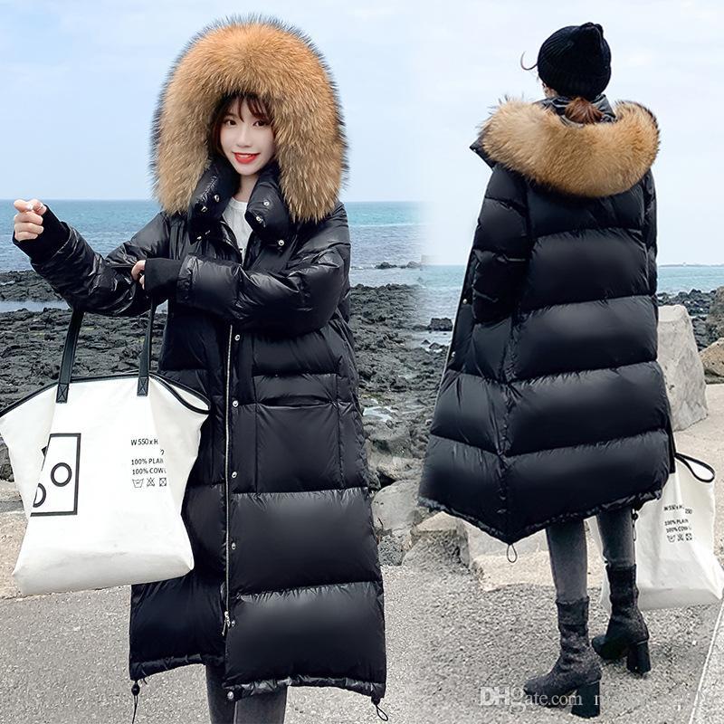 Women/'s winter jacket long coat hooded down jacket Outwear Warm parka XS-XL