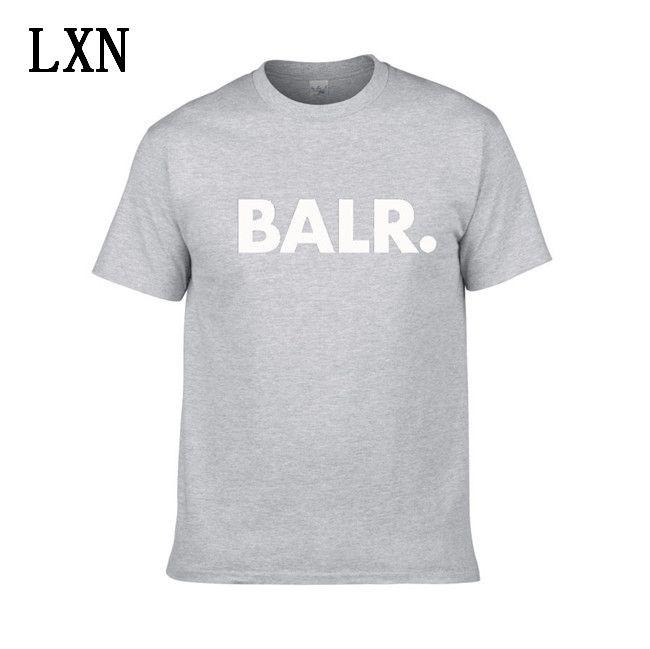 2020 Nuovo Balr progettista magliette Hip Hop Mens del progettista delle magliette di marca di modo delle donne degli uomini manica corta Large Size XS-XXL EL-1