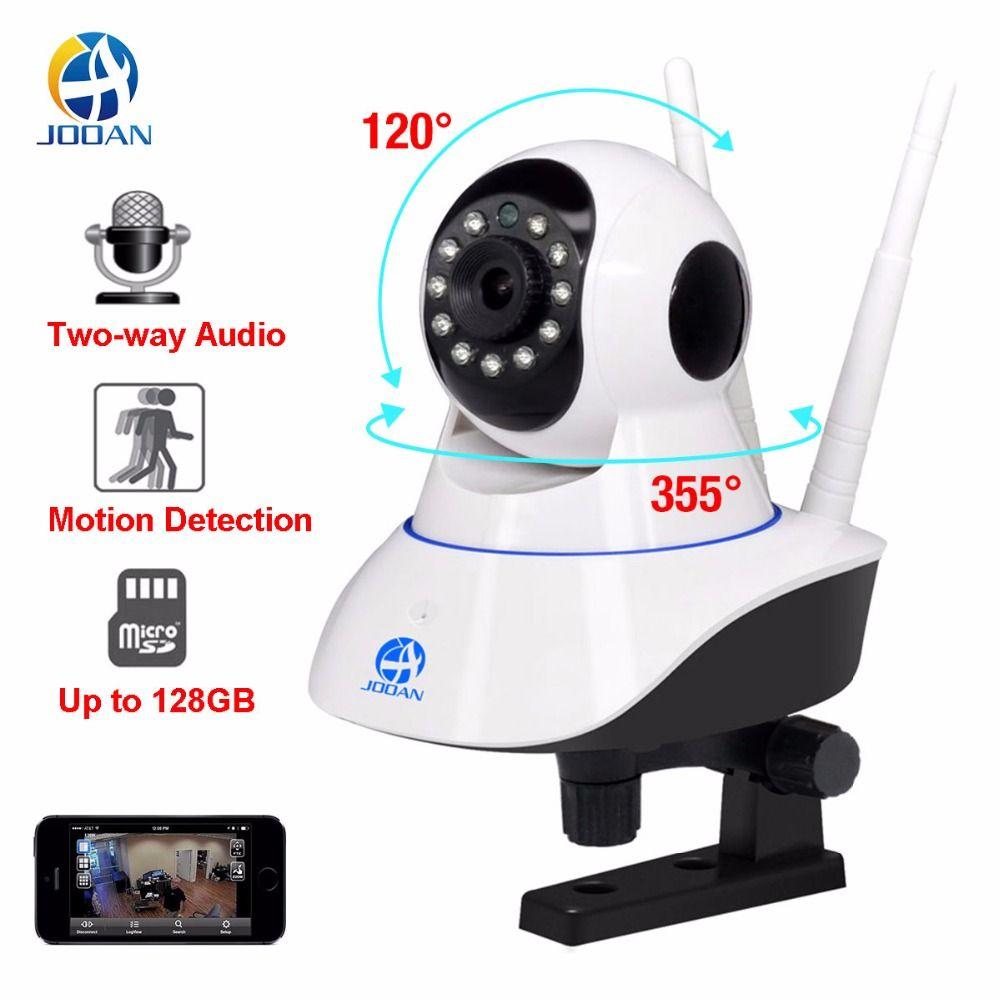 Nova JOOAN ip câmera de segurança wi-fi câmera do monitor do bebê 1MP cctv ip wifi mini câmera câmeras de vigilância 720P