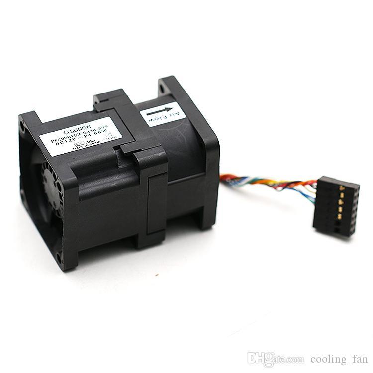Original Sunon PF40561BX-Q310-S99 4056 40mm 40*40*56mm DC 12V 24W powerful server inverter cooling fan