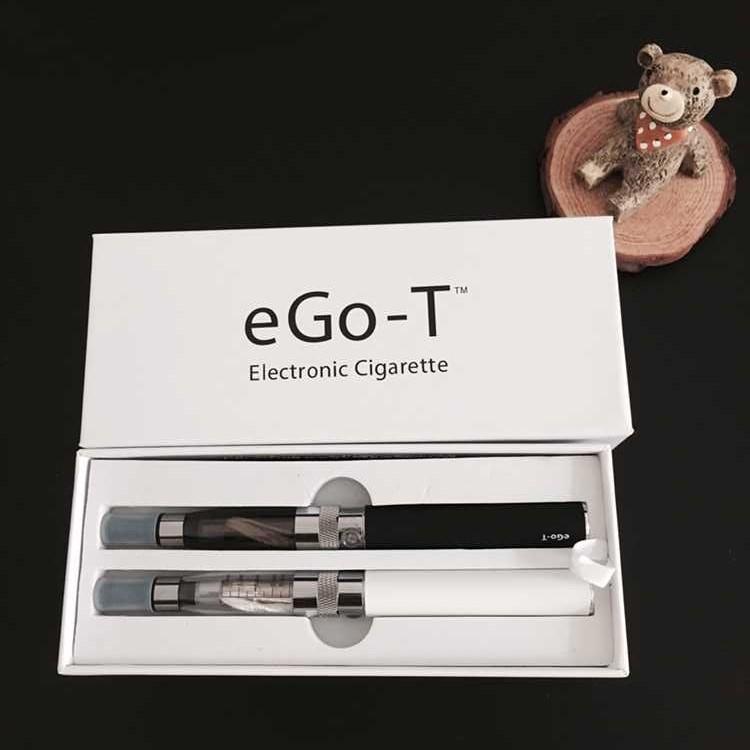 Ego-T Battery Double Vape Stift Starter Kit E Zigarette CE4 Zerstäuber 650MAh 900mAh 1100mAh Batterie Ego T CE4 Mod Box E Liquid Vaporizer