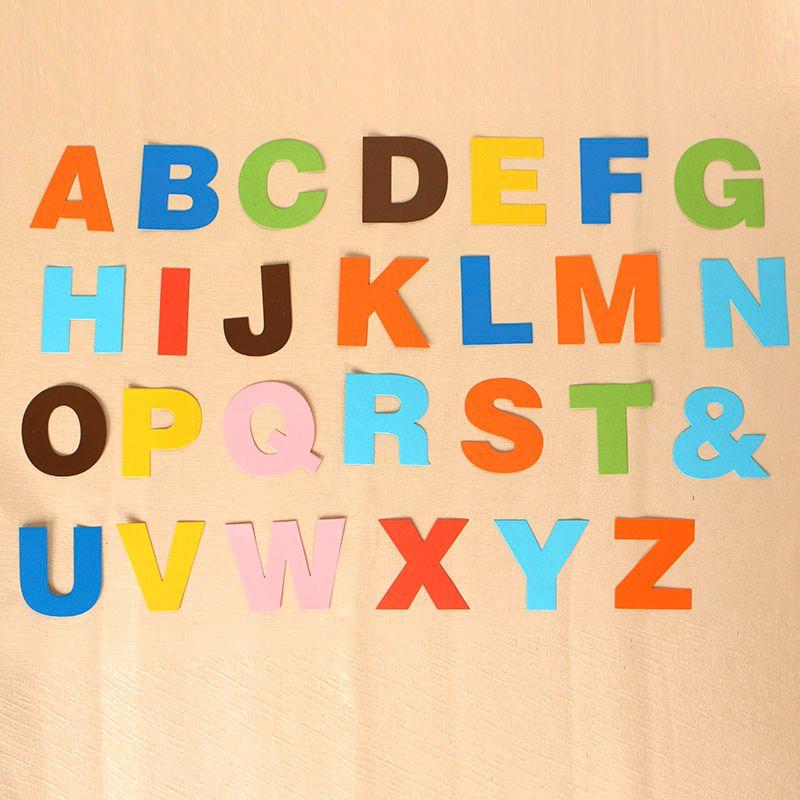 26Pcs Capital Letters Metal Cutting Dies For DIY Scrapbook Album Paper Card ZN