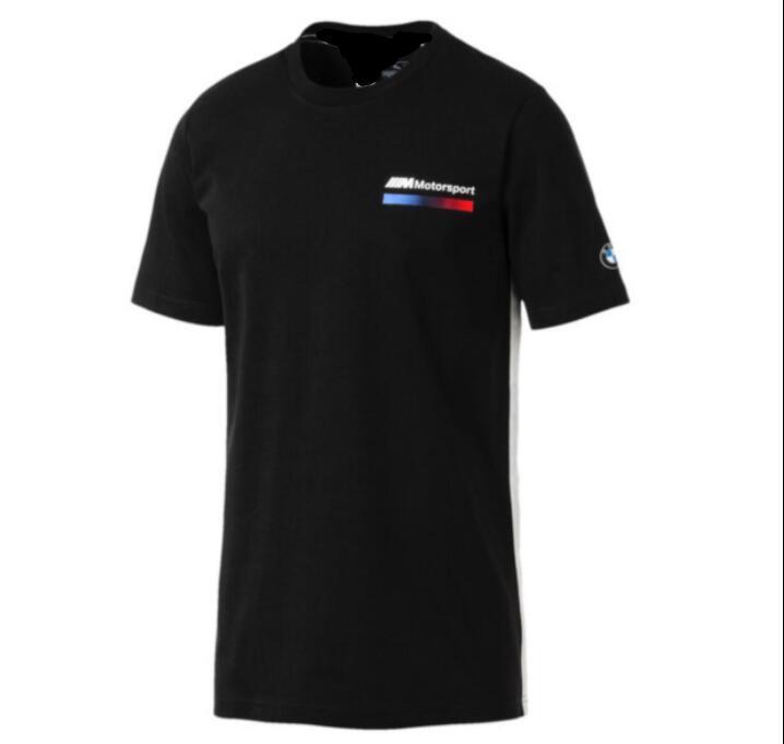 الصيف الجديدة BMW سباق دراجة نارية قصيرة الأكمام تي شيرت الشارع متسابق الدراجات النارية تشغيل الملابس سباق الدراجات التجفيف السريع الملابس