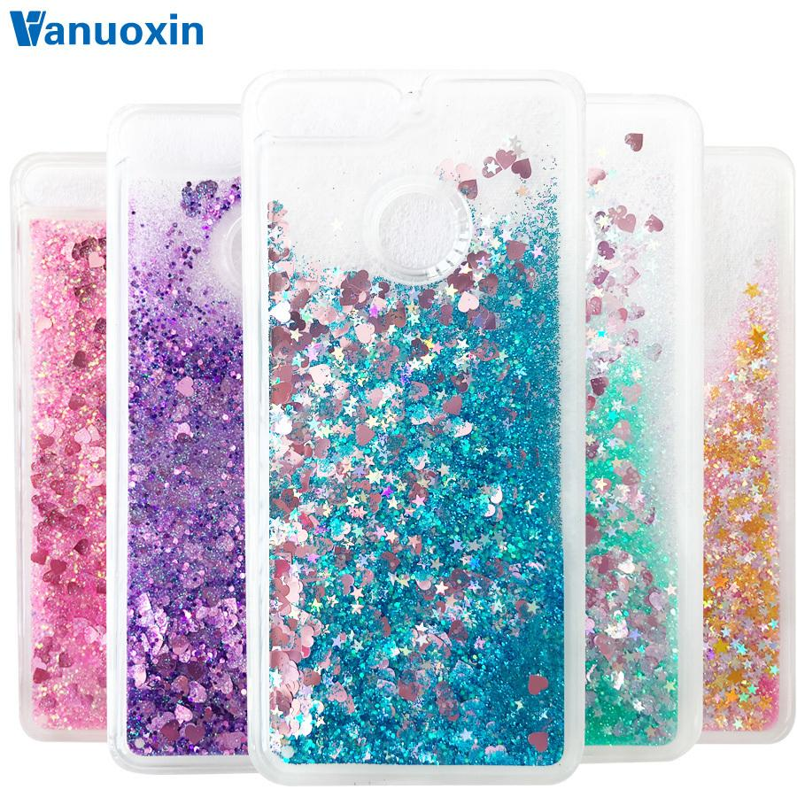 la venta de zapatos diseño popular mejor sitio web Y6 Case Sfor Fundas Huawei Y6 Case Coque Huawei Y6 Prime Case Cover Liquid  Glitter Dynamic Soft Tpu Phone Cases Cell Phone Cover Cell Phone Wallet ...