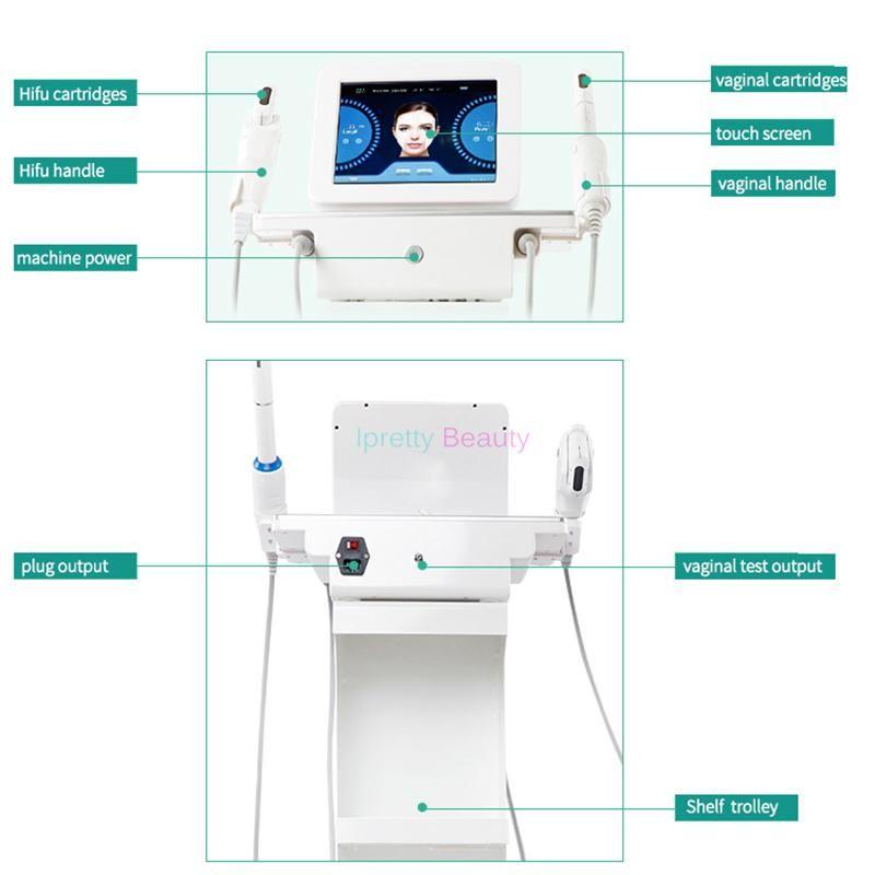 Ultrason ciblé 3 dans 1 retrait de ride de forte intensité de machine d'ascenseur de visage de catégorie médicale HIFU avec la machine de 7 têtes pour la santé privée féminine