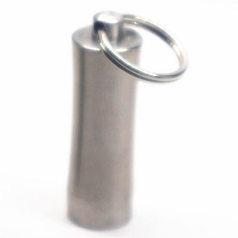 Multifonction Porte cure-dents médecine de stockage Organisateur bouteille extérieur Vieillard Mini médecine Portable Bouteille Canister Métal DBC VT0390