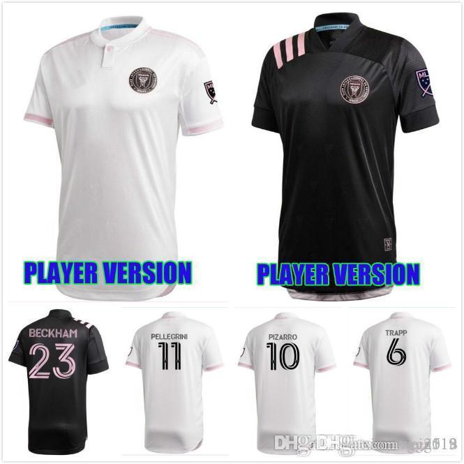 jersey del jugador VERSIÓN 2020 INTER MIAMI Socer Beckham 20 21 Julián Carranza Ben Sweat Pellegrini MLS OFICIAL DE FUENTE DE MIAMI CF camisetas de fútbol