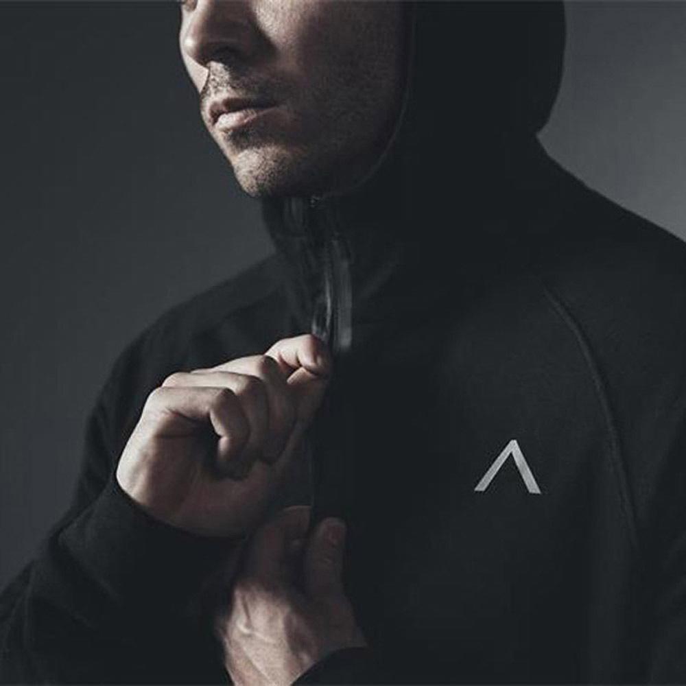 Nueva llegada de Alpha Industries marca impresa de deporte Hombres camiseta de Hip Hop masculino con capucha sudaderas con capucha suéter ropa 3 Color