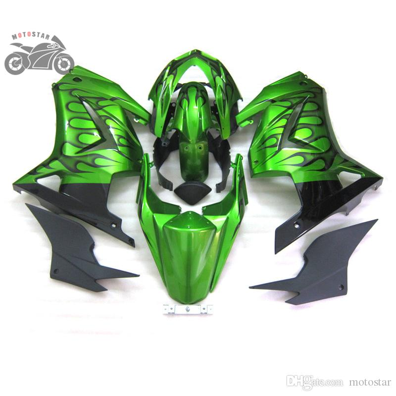 Road racing fairings kit for Kawasaki Ninja 250R ZX250R ZX 250 2008 - 2012 EX250 08-12 body repair fairing parts