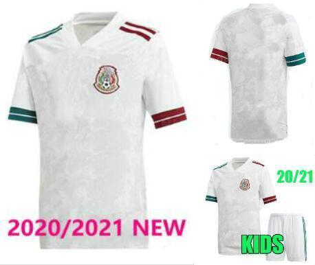Player versão 20 21 jérseis México Futebol de distância H.LOZANO dos Santos Chicharito 2020 2021 da equipe nacional camisas de uniforme de futebol esportes