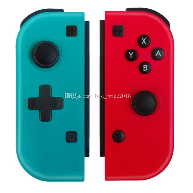 Sem fio Bluetooth Pro Controlador Gamepad Para Nintendo Interruptor Console Interruptor Gamepads Controlador Joystick Para Nintendo Game Presente DHL Livre