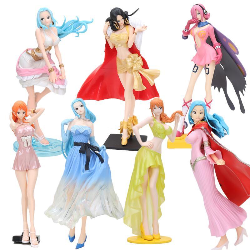 One Piece Glitter & Glamours Nami Robin vivi Boa Hancock Vinsmoke Reiju creator x creator PVC Action Figure Toy
