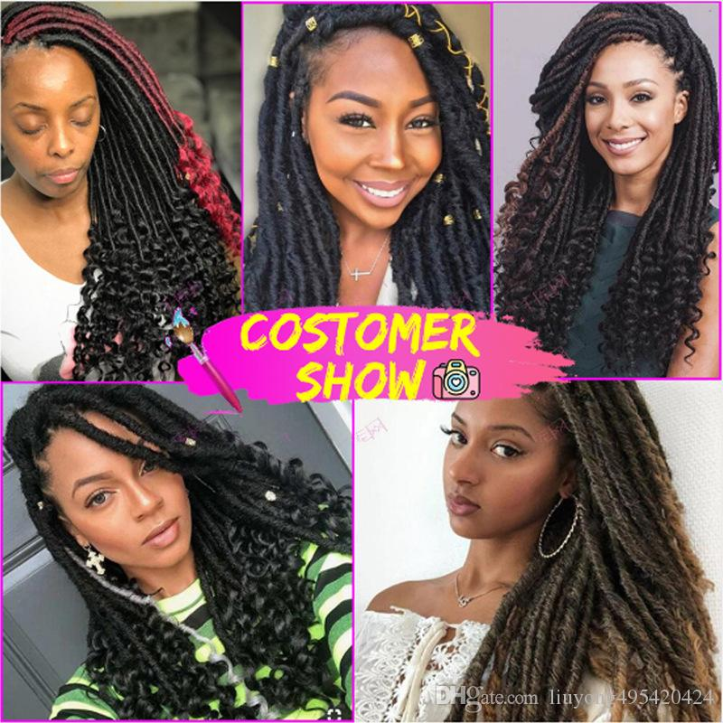 Popular European and American lady of liberty wig African wig chemical fiber crochet dirty braid hollow braid hair
