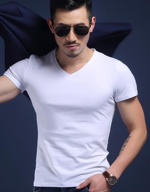 2019 New Fashion Sexy Ultra-sottile Sheer Man Fitness Poliestere Canotte Gay O scollo a V Trasparente Camicie Big Plus Size S-5XL