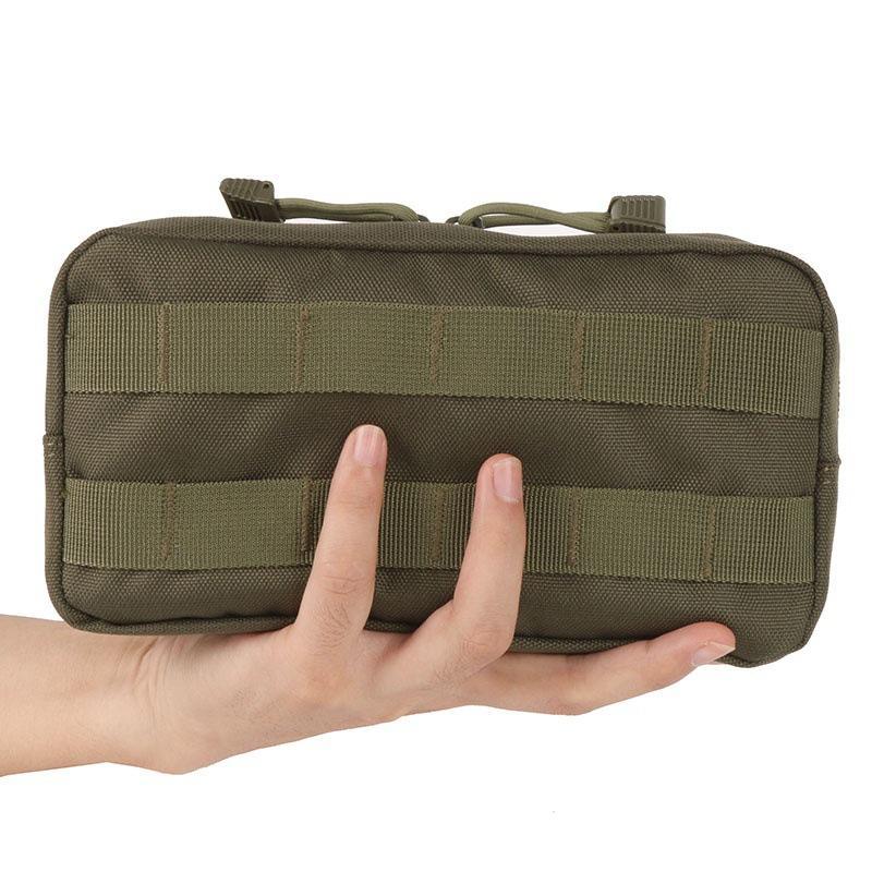 El recorrido al aire universal táctico del bolso de mano de camuflaje que va de excursión Molle de la bolsa de accesorios bolsa de deporte