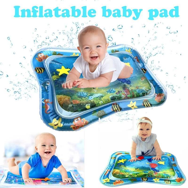 نفخ المياه تلعب حصيرة للأطفال طفل لعبة البساط التعليمية الرياضة الزحف الحصير بطانية الأطفال ماتس السجاد 66 * 50 سنتيمتر