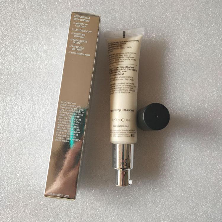Maquillaje Cara Base de Maquillaje Primer 30ml maquillaje matificante sin poros base de la cartilla de teint matifiante naturales de alto rendimiento sin poros HOT