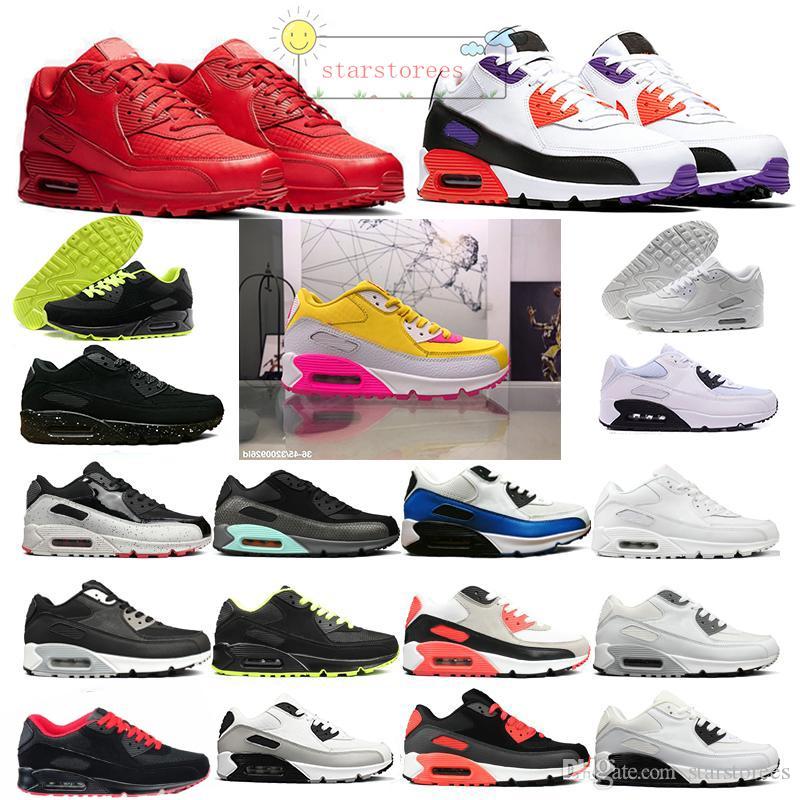 Designer 90 Chaussures Triple Vinyle étoile d'or Viotech 9C Qs Femmes Hommes OG Chaussures Sneakers Sport Marchepied Entraîneur