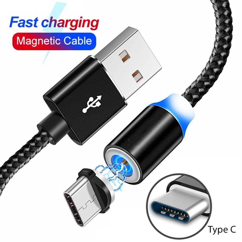 Magnetische USB-Kabel für Samsung-Galaxie A2 USB-Typ-C-2A Lade Schnell Magnet-Ladegerät Adapter Kabel für Mobiltelefone