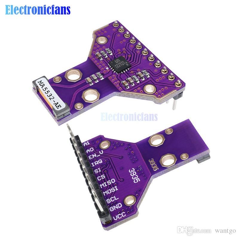 AS3935 Dijital Sensör Breakout Kurulu Modülü SPI I2C Arayüzü Vurdu Yağmur Fırtınası Fırtına Mesafe Algılama 2.4 V için 5.5 V freeshipping