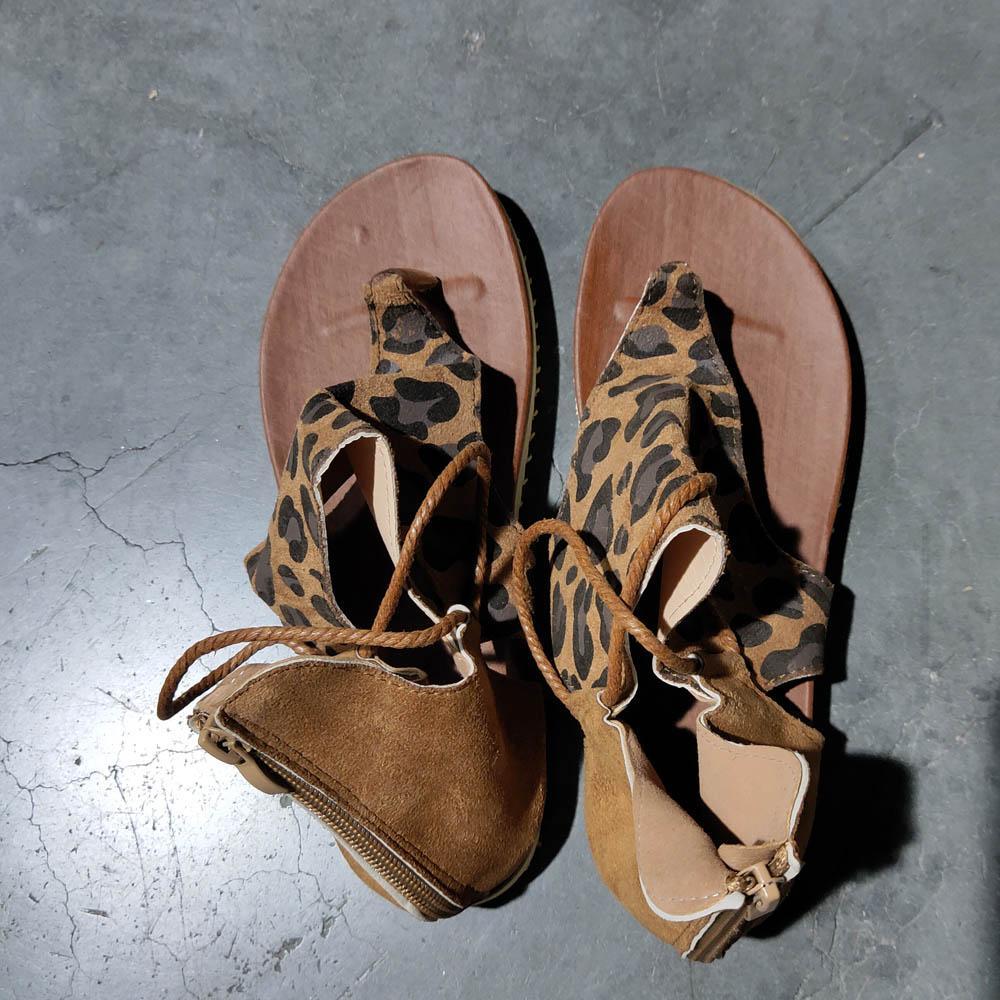 지퍼 슬리퍼 DOM1571에 레오파드 뱀 얼룩말 인쇄 신발 치타 비치 샌들 크기 5-12 여성 슬립 외부 여성 플랫 샌들 여름