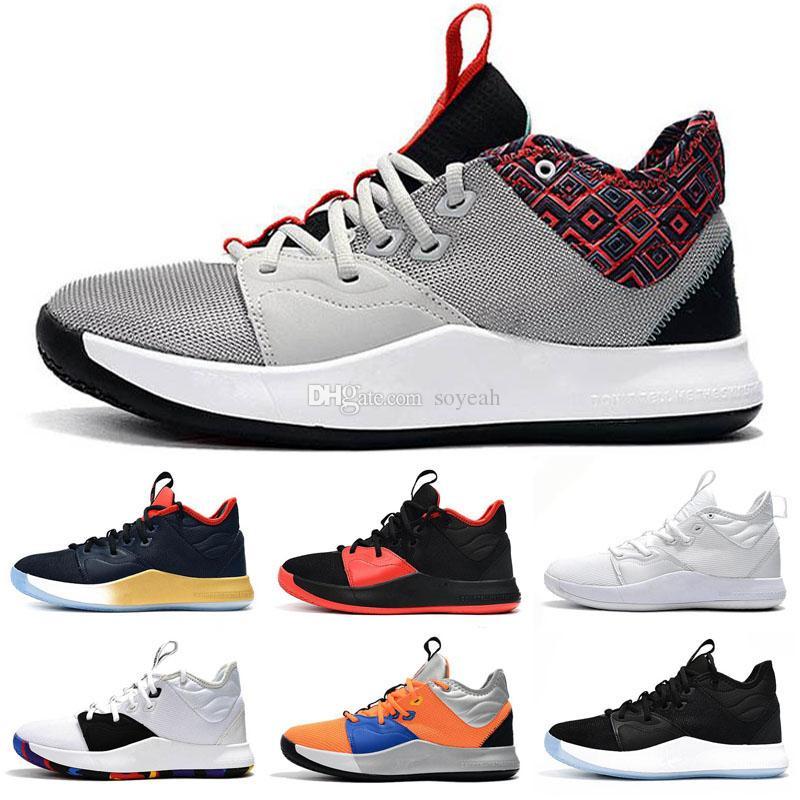 2020 Nouvelle haute qualité extérieure Chaussures de basket-Paul George Zoom PG 2 PG Blue Sky 2.5 Gold Champion