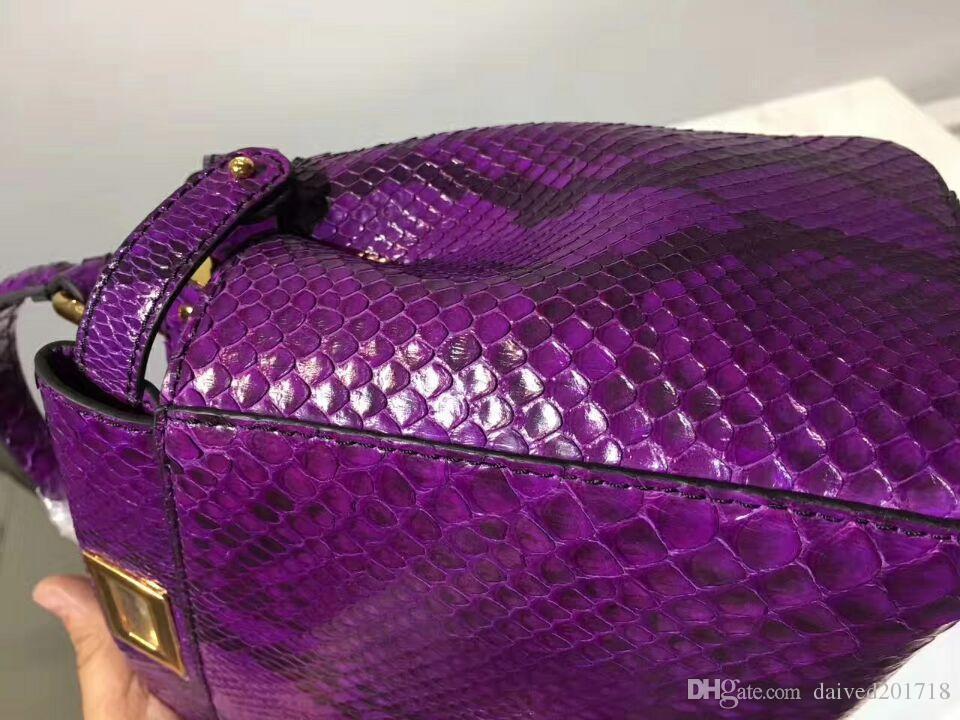 Европейский классический стиль роскошный Париж zoshow новая женская сумка наплечная сумка кожа кожаная поверхность python python leather making decoration