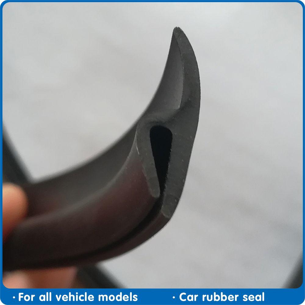 2 M лобового стекла резиновое уплотнение Передние Задние лобового стекла Люк Seal Полоски пыле уплотнительная лента Для автоматической приборной панели автомобиля