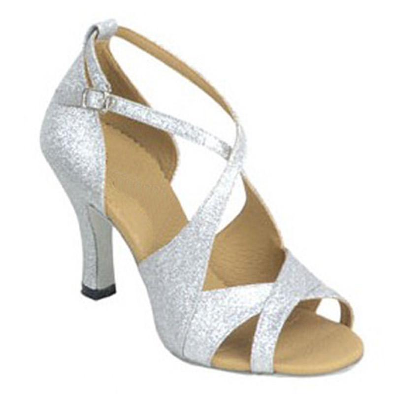 ارتداء XSG واللاتينية أحذية الرقص النساء الإناث الأزياء والأحذية قاعة الرقص وميض الأداء مركب بكعب الرقص أحذية بو الجلود الناعمة