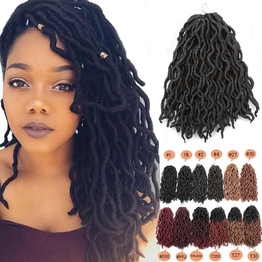 2020 Hot Ombre Faux Locs Curly Crochet Hair Extensions 12inch Short Kanekalon Soft Crochet Braids Dreadlock Hair Extensions From Zyhbeautyhair 85 43 Dhgate Com