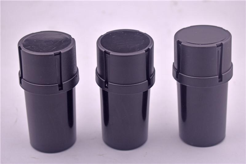 DHL livre de tabaco Plastic Grinder Container 3 partes de tabaco Grinder Crusher erva 42mm tubos de diâmetro fumadores Acessórios mais baratos