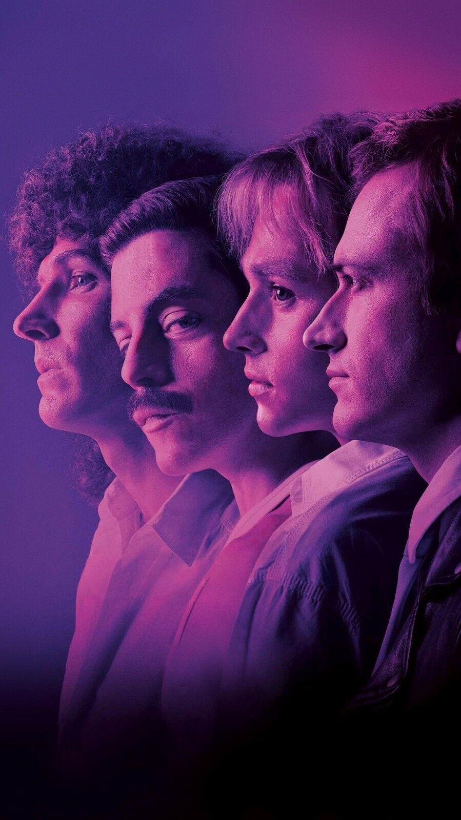 Bohemian Rhapsody Movie Art Silk Poster Canvas Print