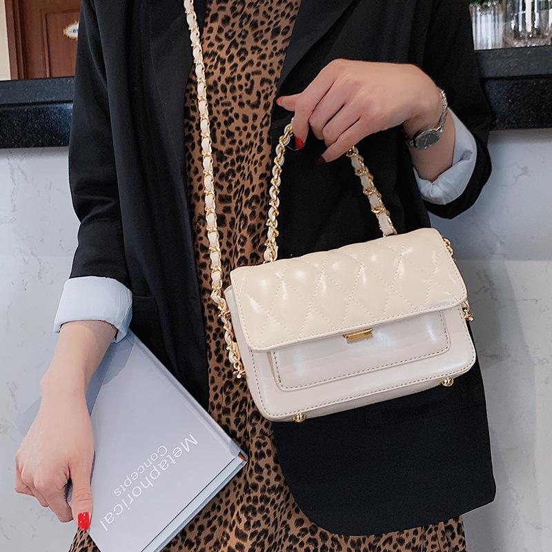 Women Shoulder Bags Quilted Handbags Crossbody Messenger Bag Casual Tote Clutch