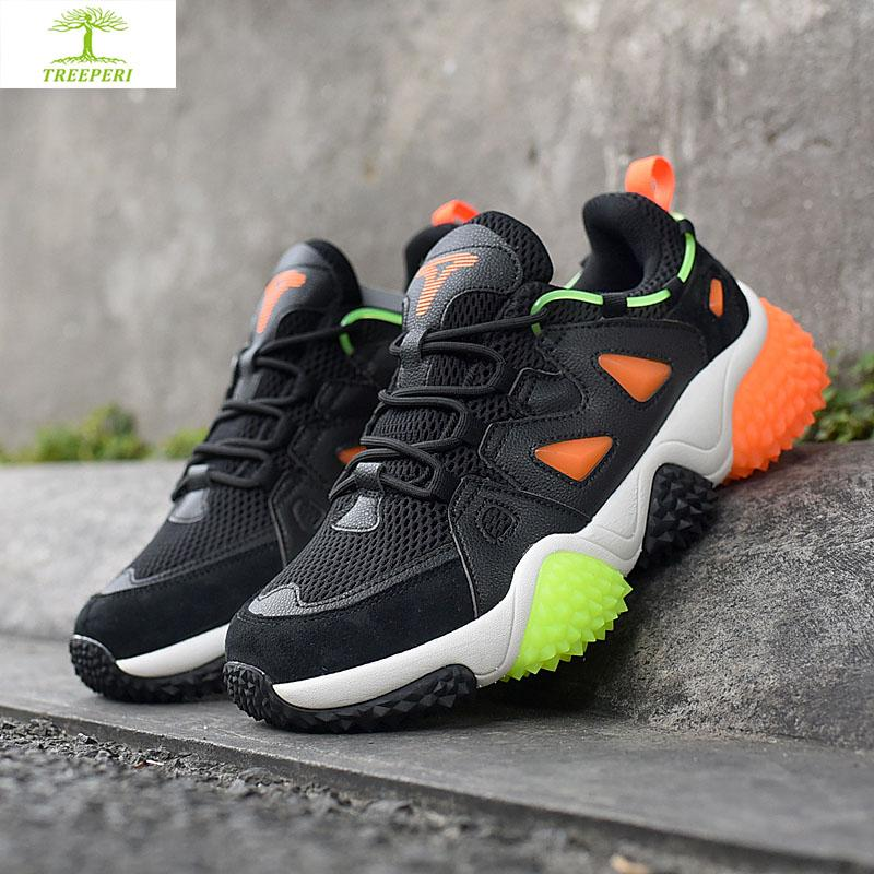 Zapatos de cada hombre de alta calidad treeperi durian gruesos v2 voltios negro naranja mujeres de los hombres deportivos formadores chaussures clásicos zapatos de diseño