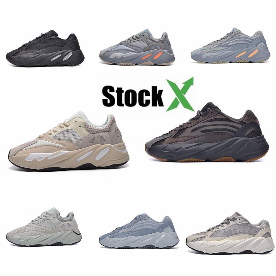 Vintage Moda Baba Erkekler Kanye West Mesh Işık Nefes Erkekler Casual Ayakkabı Erkek Sneakers Tenis Zapatos Hombre # 700 Cj191217 # DSK626 Ayakkabı