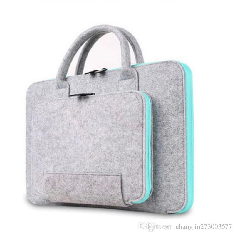 Factory Direct Sale Computer Laptop Protective Sleeve, Liner bag, Multi-function Felt Bag
