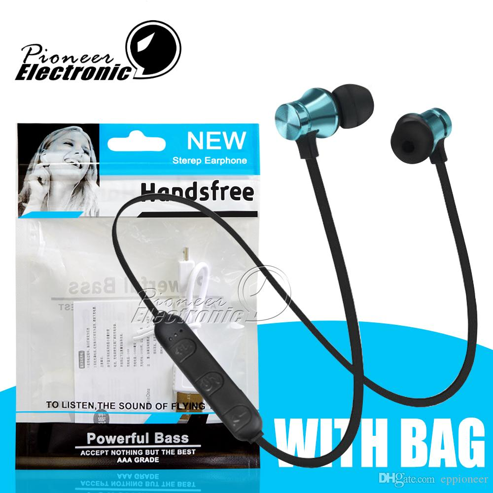 Xt11 Wireless Bluetooth Headphones Sports Running Magnetic Earphones Headsets Earbuds Bt 4 1 Stereo With Mic For Iphone Samsung Opp Package Bluetooth Headset Cell Phone Cell Phone Head Set From Eppioneer 2 07 Dhgate Com