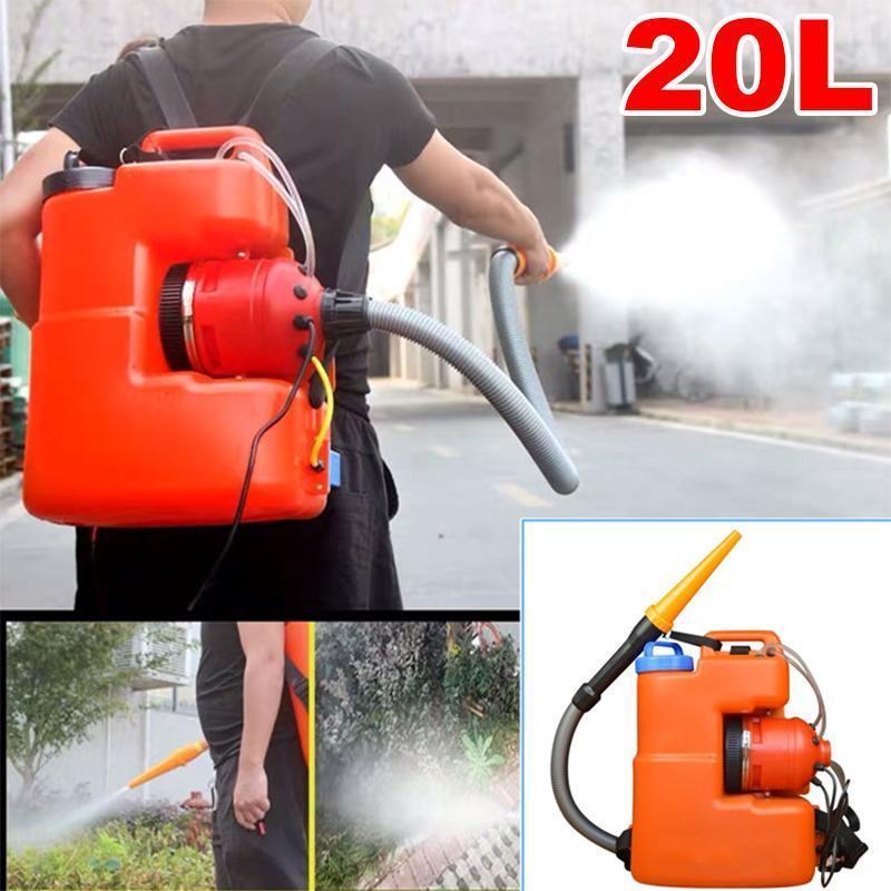 220V 20L elettrico ULV Fogger Ultra Capacity polverizzatori zanzara Disinfezione macchina Insetticida atomizzatore Combatti Strumento