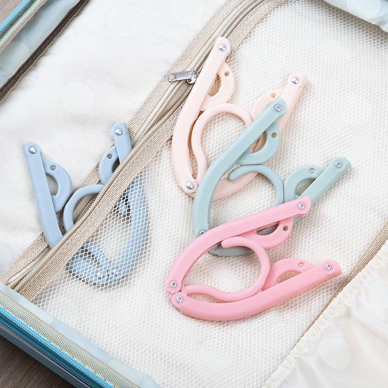 Foldable Magic Hanger Portable Outdoor Travel Essential Anti-slip Hanger Plastic Clothes Hangers Drying Rack