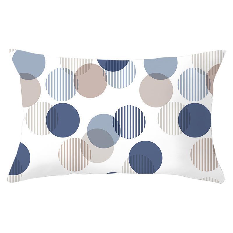 Atacado Geometric lombar travesseiro capa de almofada étnico Cases Tampa lençóis de algodão almofada decorativa Retângulo fronha para o sofá Home Decor