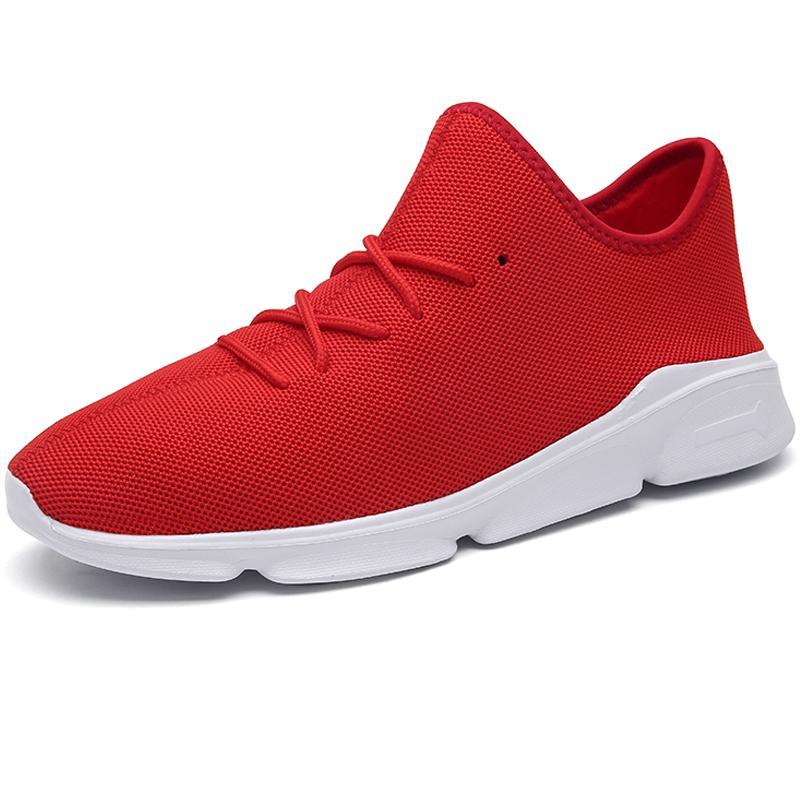 Homens sapatilhas Running Shoes sapatos macios respirável Male Sports High Top Mens botas de caminhada Big Size 48 Man Zapatillas Hombre