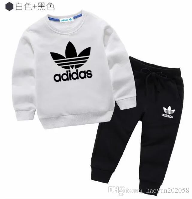 Children Designer Clothes Girls Tracksuits Kids Brand Tracksuits Kids Coats Pants 2 Pcs/sets Baby Boy Clothes Hot Sale Newborn Baby Boy Clot