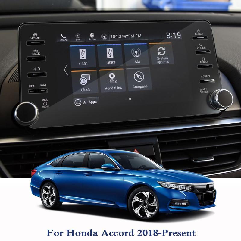 자동차 GPS 네비게이션 화면 Honda 어코드 2018-Preseent 대시 보드 유리 디스플레이 화면 필름 자동차 내부 액세서리 TPU 필름