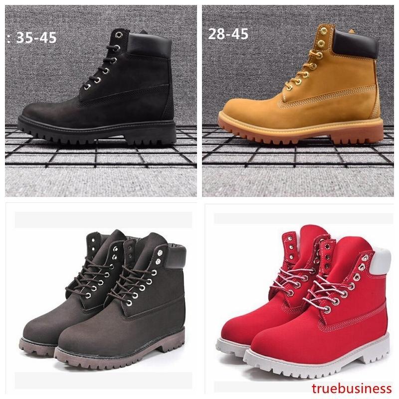 Сапоги Из Натуральной Кожи Мужчины Женщины Снегоступы Повседневная Мартин Сапоги Оптовая Мода Бренд Обуви
