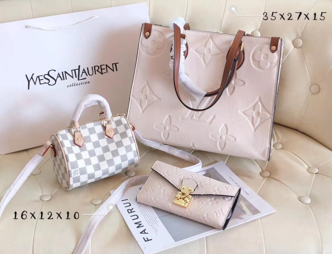 2020 Yeni 3adet Moda Kadın Deri set Çanta Crossbody Çanta Kadın tasarımcı Çanta Çanta Tasarımcı Çantalar Ve Çanta torbaları çanta