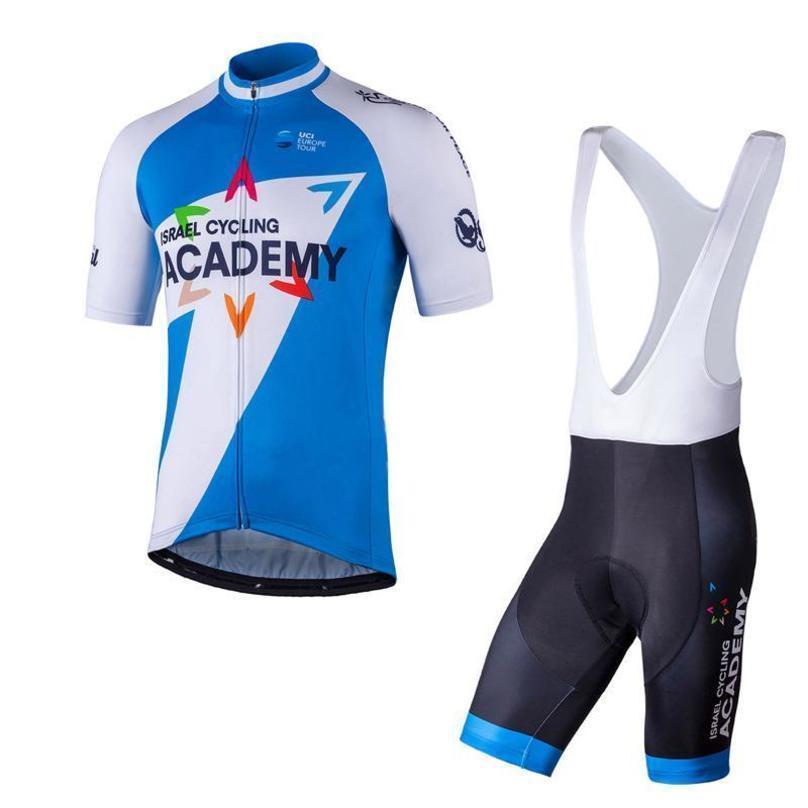 Best Israel Academy Kuota Cycling Short Sleeves Jersey Bib Shorts Sets Men Road Bike Clothing Breathable Short Sleeve Shirts K040707