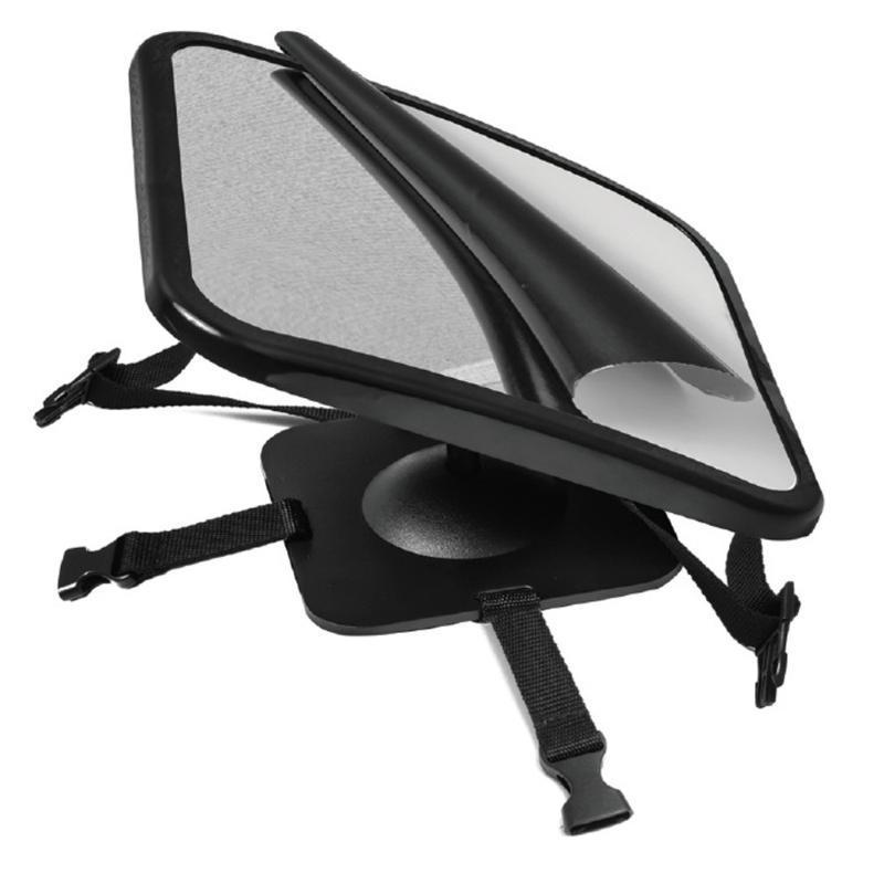 245 * 175 * 85MM Back Seat bebê MirrorWide Convex Shatterproof Vidro e pivô e inclinação da cabeça resto totalmente montado montagem.