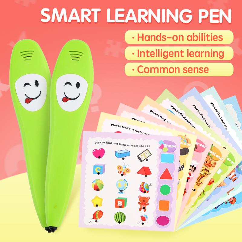 ألعاب تعليمية للأطفال المنطق الحس الذكاء المعرفي التعلم القلم بطاقة لغز الطفولة المبكرة التعليم