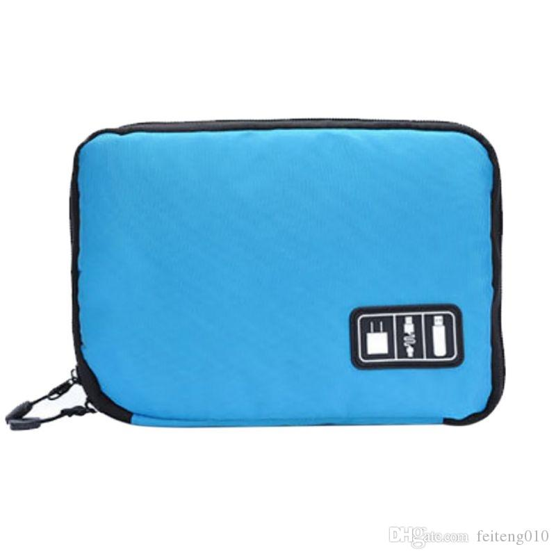 Swimming Electronic Organizers Bag Digital Bag For Hard Drive Organizers For Earphone Cables USB Flash Drives Travel Case #351948